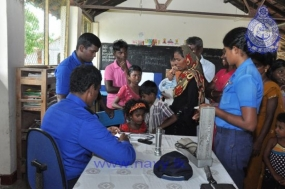 Health Camp by North Western Naval Command in Mannar
