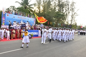 Naval ships return home after attending 'MILAN 2018'