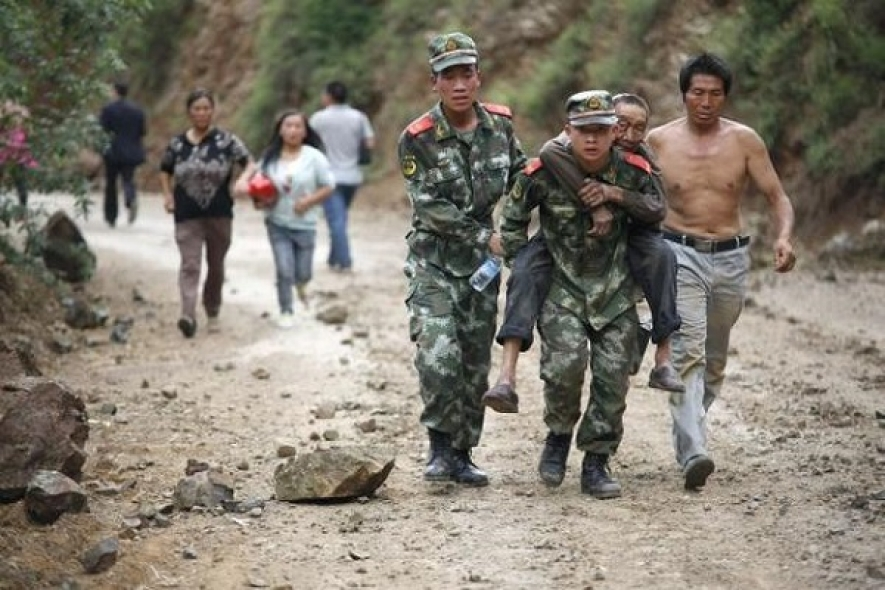 Hundreds killed as strong quake hits Southwest China