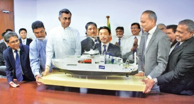 Colombo Dockyard delivers modern cable laying vessel
