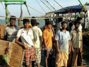 President Rajapaksa orders release of five Indian Fishermen