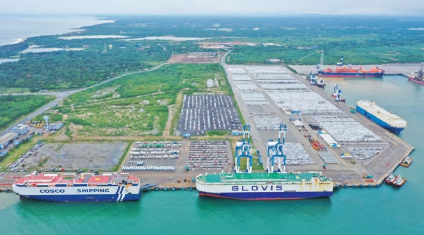 Hambantota Int'l Port reaches 1 mn MT benchmark for 2019