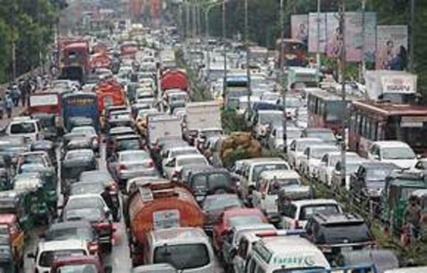 Estimated daily average congestion cost up to Rs 1 bn