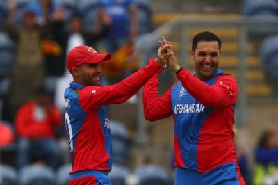 Sri Lanka collapse against Afghanistan in World Cup before rain intervenes