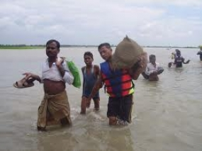 Government provides relief to flood victims