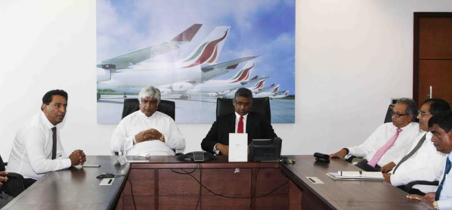 Srilankan airlines new chairman assumes duties - Srilankan airlines office ...