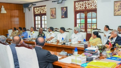 President chairs emergency meeting of National Security Council