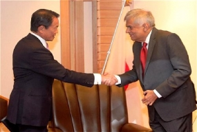 Japan extends support to Sri Lanka for its efforts to create a new country