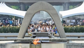 Japan observes Hiroshima bombing anniversary