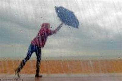 Winds enhance over the island: Rain in Central and Sabaragamuwa