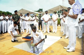 Foundation stone laid for Sailors' Married Quarters Complex at Welisara