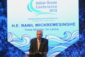 Indian Ocean define the destiny of the world in 21st Century says PM