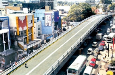 Nugegoda flyover temporarily closed for traffic