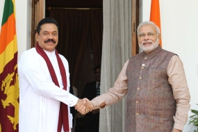 President Rajapaksa and Prime Minister Modi Meet in New Delhi