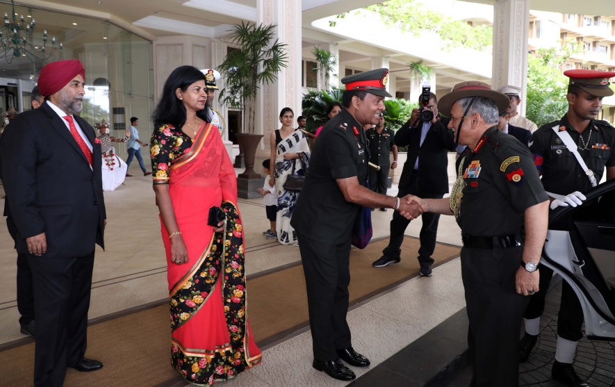 Indian Army chief to visit Sri Lanka today