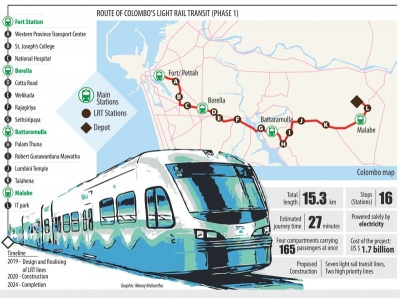 Light Rail set to be SL's first women-friendly public transport system