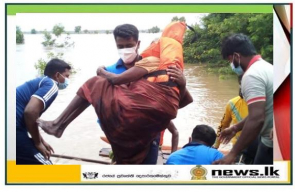 Navy rescues 29 flood victims in Puttalam district