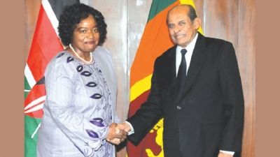 SL, Kenya to boost friendship through practical measures