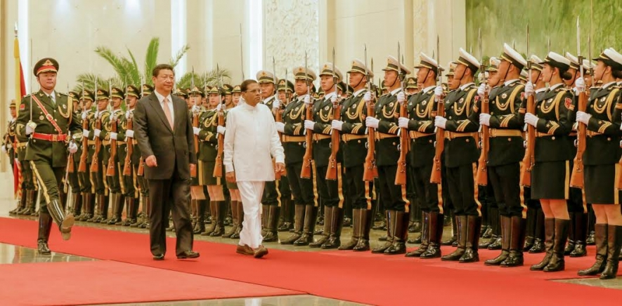 President  Sirisena Undertakes first Visit to China as Presdient