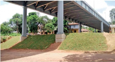 Ganemulla flyover to be declared open today, Polgahawela on 17 January
