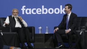 PM Modi hails the political power of social media at Facebook's headquarters