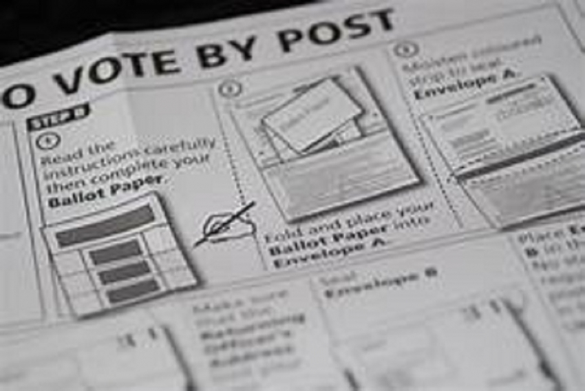 Postal voting ballot papers issued on Oct 18