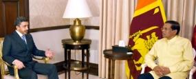 U.A.E. Foreign Affairs Minister calls on President