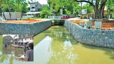 Colombo Flood Control:South Pumping Station construction begins