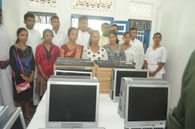 SF-J Harmony Centre Ready to Provide IT Training to Jaffna Children
