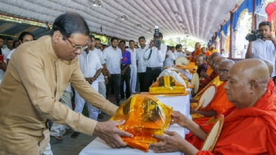 Polonnaruwa  Bath Dansala held for the 59th occasion
