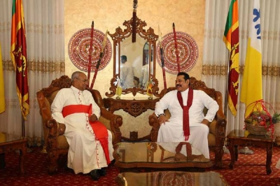 PM meets Archbishop Malcolm Ranjith