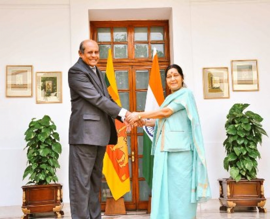 Foreign Minister meets his Indian Counterpart