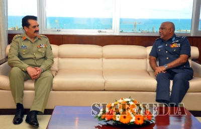 Pakistan's Army Chief  Visits SLAF