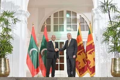 Lanka to sign several agreements with the Maldives