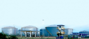 The New Tank Farm Complex and Bunkering Terminal declared open by the President Mahinda Rajapaksa