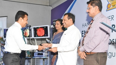 Twenty endoscopy machines for state hospitals