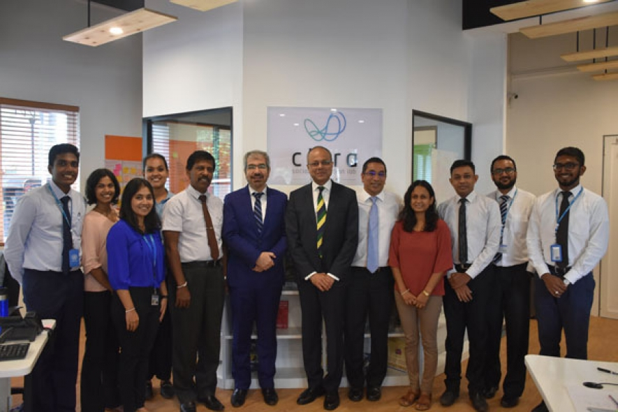 Minister Sagala visits SL first social innovation lab 'Citra'