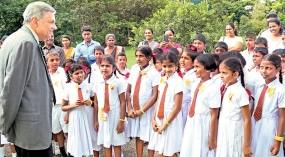 Prime Minister met a group of students