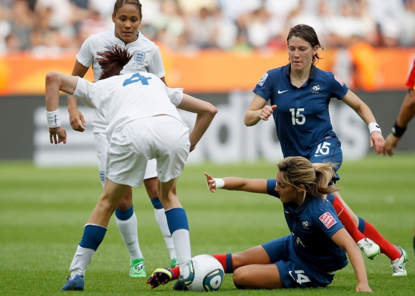 England  to the quarter-finals of the Women's Foot Ball World Cup
