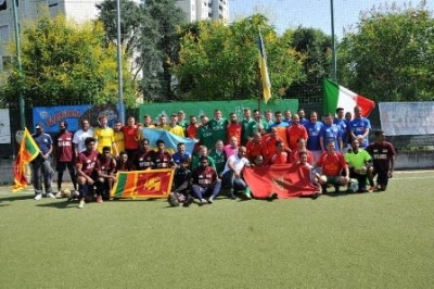 "Sri Lanka secured 5th Place at ""US ACLI Football World Cup"""