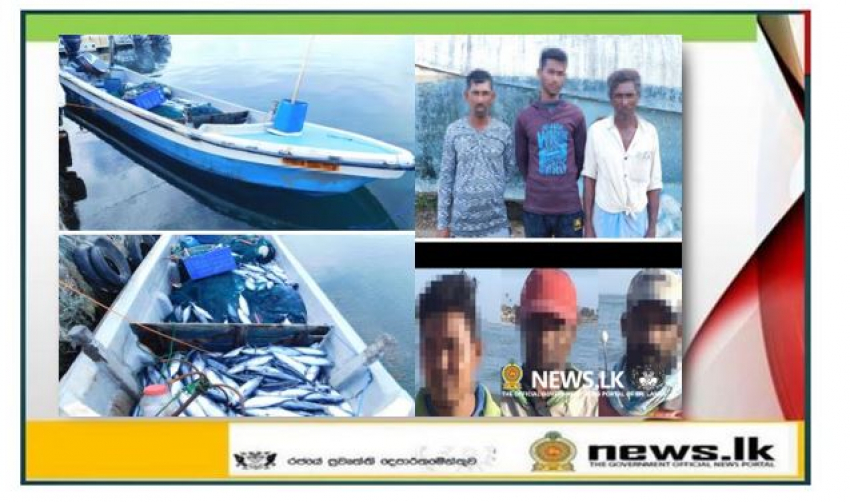 Navy apprehends 15 persons for engaging in illegal fishing in Eastern seas