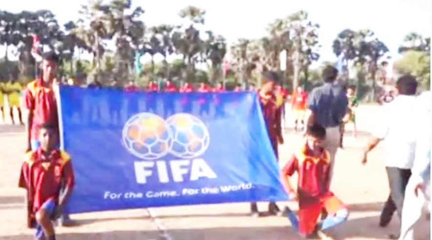 Two Northern villages celebrate FIFA 2014