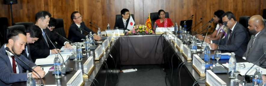 SRI LANKA-JAPAN DIALOGUE ON MARITIME SECURITY, SAFETY AND OCEANIC ISSUES WAS SUCCESSFUL