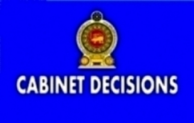 DECISIONS TAKEN BY THE CABINET OF MINISTERS AT ITS MEETING HELD ON 03.10.2017