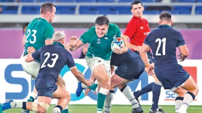 England toil against Tonga as Ireland cruise at Rugby World Cup