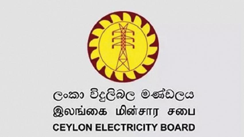 CEB announces Power cut schedule