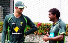 Muttiah joins Australia's Coaching Staff