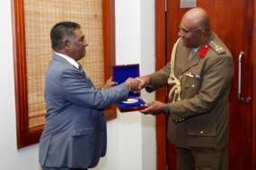 Deputy Commander of Fiji Military Forces meets Secretary
