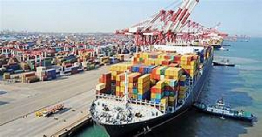 Exports up by 1.4 % to $ 1.03 bn, imports down by 15.3 %