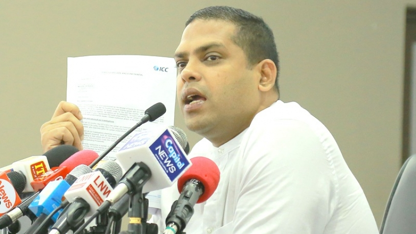 ICC says SLC worse  in sports corruption – Sports Minister